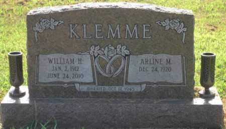 KLEMME, WILLIAM H. - Cass County, Nebraska | WILLIAM H. KLEMME - Nebraska Gravestone Photos