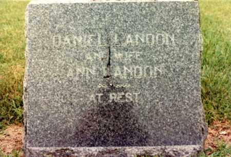 LANDON, ANN JANE - Cass County, Nebraska | ANN JANE LANDON - Nebraska Gravestone Photos