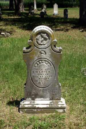 LAUGHLIN LODER, MARY ELIZABETH - Cass County, Nebraska   MARY ELIZABETH LAUGHLIN LODER - Nebraska Gravestone Photos