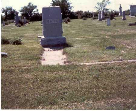 MARK, ELIZA JANE - Cass County, Nebraska | ELIZA JANE MARK - Nebraska Gravestone Photos