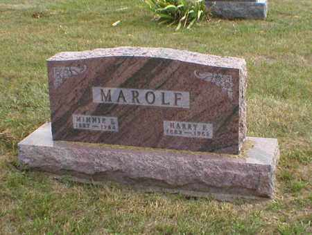 MAROLF, MINNIE - Cass County, Nebraska | MINNIE MAROLF - Nebraska Gravestone Photos
