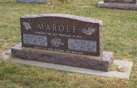 MAROLF, WALTER - Cass County, Nebraska | WALTER MAROLF - Nebraska Gravestone Photos