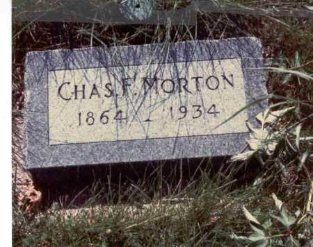 MORTON, CHARLES - Cass County, Nebraska | CHARLES MORTON - Nebraska Gravestone Photos