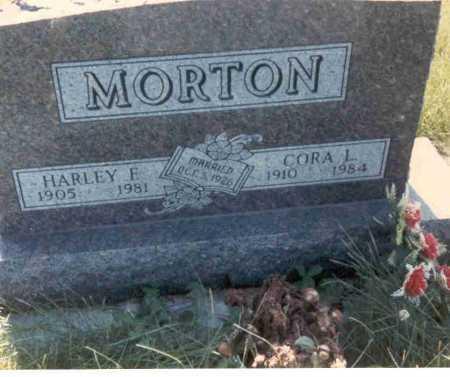 MORTON, HARLEY F. - Cass County, Nebraska | HARLEY F. MORTON - Nebraska Gravestone Photos