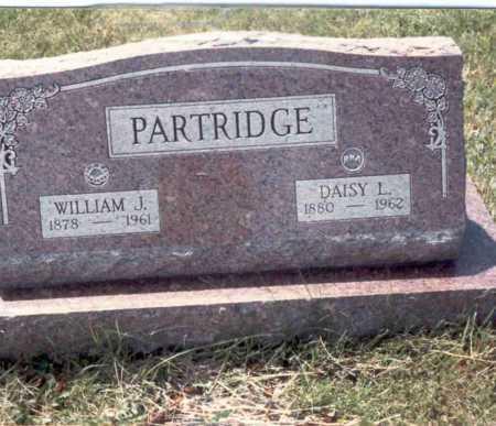 PARTRIDGE, WILLIAM J. - Cass County, Nebraska | WILLIAM J. PARTRIDGE - Nebraska Gravestone Photos
