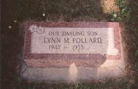 POLLARD, LYNN M. - Cass County, Nebraska | LYNN M. POLLARD - Nebraska Gravestone Photos
