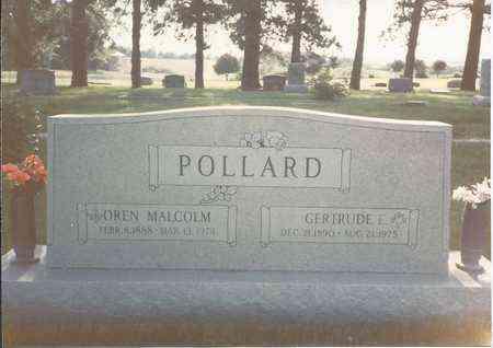 WHITE POLLARD, GERTRUDE EDITH - Cass County, Nebraska | GERTRUDE EDITH WHITE POLLARD - Nebraska Gravestone Photos