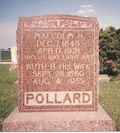 BATES POLLARD, RUTH ELLA - Cass County, Nebraska | RUTH ELLA BATES POLLARD - Nebraska Gravestone Photos