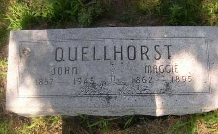 QUELLHORST, JOHN - Cass County, Nebraska | JOHN QUELLHORST - Nebraska Gravestone Photos