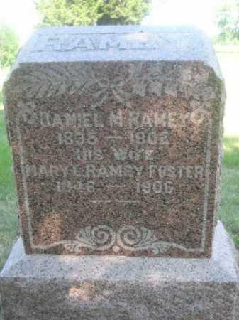 FOSTER RAMEY, MARY E. - Cass County, Nebraska | MARY E. FOSTER RAMEY - Nebraska Gravestone Photos