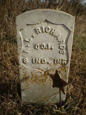RICHARDS, AMISIAH L - Cass County, Nebraska | AMISIAH L RICHARDS - Nebraska Gravestone Photos