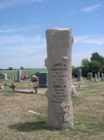 ROBERTSON, JAMES K. - Cass County, Nebraska | JAMES K. ROBERTSON - Nebraska Gravestone Photos