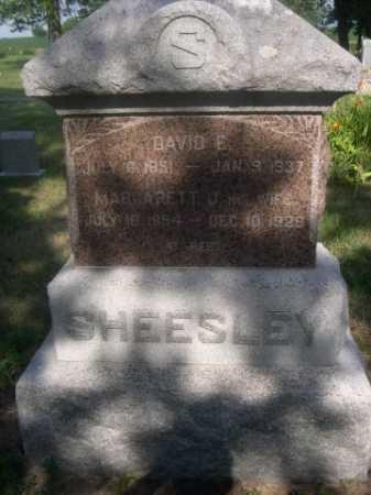 SHEESLEY, MARGARETT J. - Cass County, Nebraska | MARGARETT J. SHEESLEY - Nebraska Gravestone Photos