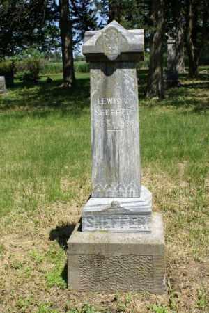 SHEFFER, LEWIS V. - Cass County, Nebraska | LEWIS V. SHEFFER - Nebraska Gravestone Photos