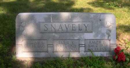 SNAVELY, WILLIAM L. - Cass County, Nebraska | WILLIAM L. SNAVELY - Nebraska Gravestone Photos