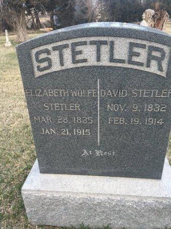STETLER, ELIZABETH - Cass County, Nebraska | ELIZABETH STETLER - Nebraska Gravestone Photos