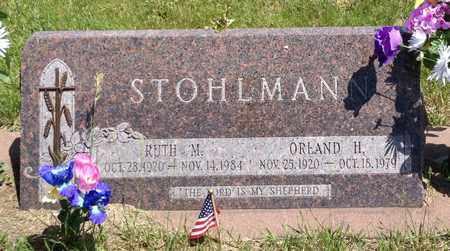 STOHLMANN, ORLAND H - Cass County, Nebraska | ORLAND H STOHLMANN - Nebraska Gravestone Photos
