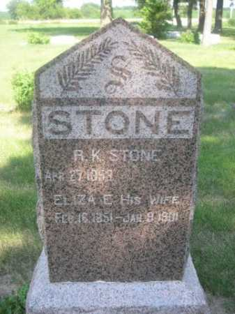 STONE, R. K. - Cass County, Nebraska | R. K. STONE - Nebraska Gravestone Photos
