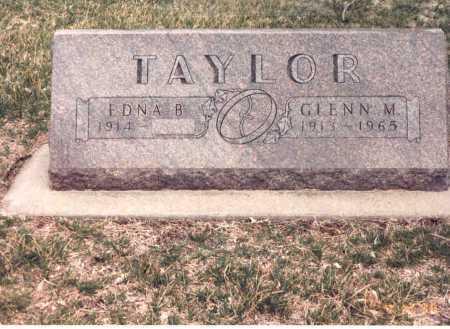 TAYLOR, GLENN M. - Cass County, Nebraska | GLENN M. TAYLOR - Nebraska Gravestone Photos