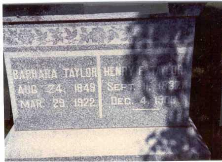 TAYLOR, BARBARA - Cass County, Nebraska   BARBARA TAYLOR - Nebraska Gravestone Photos