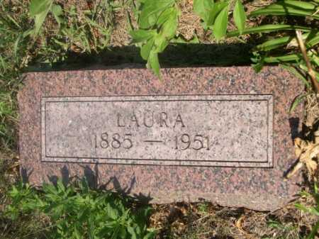 THURSTON, LAURA - Cass County, Nebraska   LAURA THURSTON - Nebraska Gravestone Photos