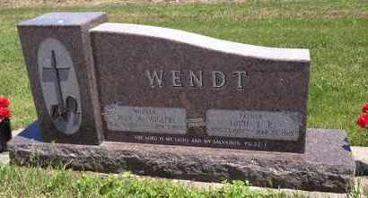 WENDT, LOUIE F.P. - Cass County, Nebraska | LOUIE F.P. WENDT - Nebraska Gravestone Photos