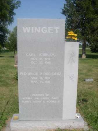 WINGET, CARL (CURLEY) - Cass County, Nebraska | CARL (CURLEY) WINGET - Nebraska Gravestone Photos
