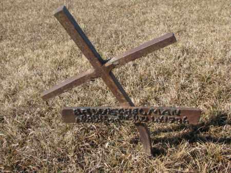 ---------ELMAN, UNKNOWN - Cedar County, Nebraska   UNKNOWN ---------ELMAN - Nebraska Gravestone Photos