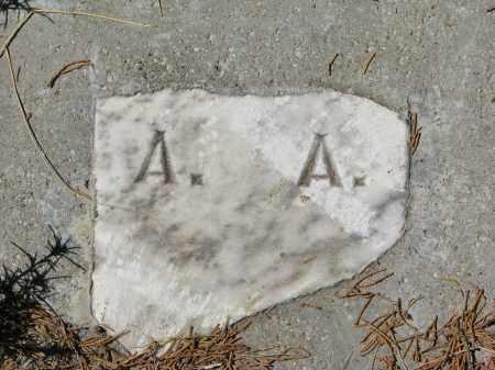 UNKNOWN, A.A. - Cedar County, Nebraska   A.A. UNKNOWN - Nebraska Gravestone Photos