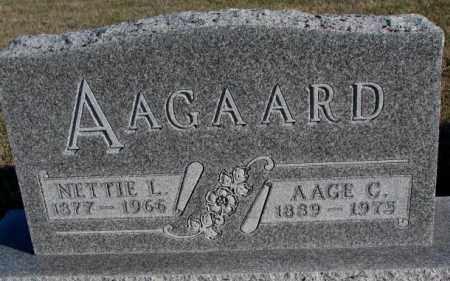 AAGAARD, AAGE C. - Cedar County, Nebraska | AAGE C. AAGAARD - Nebraska Gravestone Photos