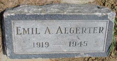 AEGERTER, EMIL A. - Cedar County, Nebraska   EMIL A. AEGERTER - Nebraska Gravestone Photos