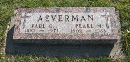 AEVERMAN, PAUL - Cedar County, Nebraska | PAUL AEVERMAN - Nebraska Gravestone Photos
