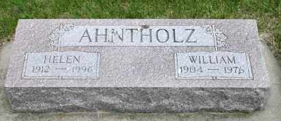 AHNTHOLZ, WILLIAM - Cedar County, Nebraska | WILLIAM AHNTHOLZ - Nebraska Gravestone Photos