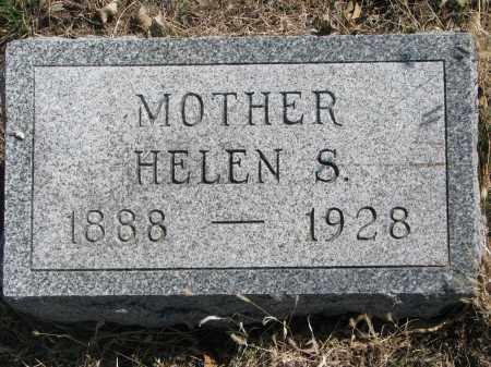 AKINS, HELEN S. - Cedar County, Nebraska | HELEN S. AKINS - Nebraska Gravestone Photos