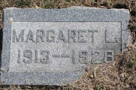 AKINS, MARGARET L. - Cedar County, Nebraska   MARGARET L. AKINS - Nebraska Gravestone Photos