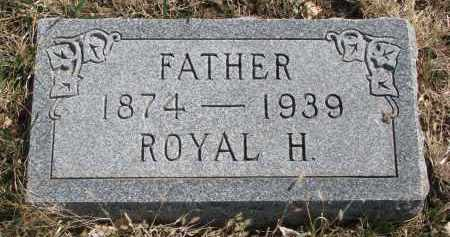 AKINS, ROYAL H. - Cedar County, Nebraska | ROYAL H. AKINS - Nebraska Gravestone Photos