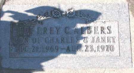 ALBERS, JEFFREY C. - Cedar County, Nebraska   JEFFREY C. ALBERS - Nebraska Gravestone Photos