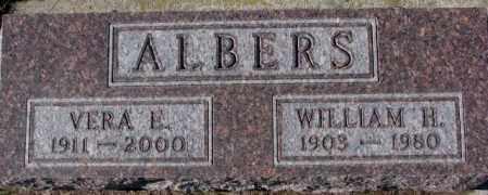 ALBERS, VERA E. - Cedar County, Nebraska   VERA E. ALBERS - Nebraska Gravestone Photos