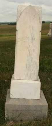 ALBERTSON, BESSIE MAY - Cedar County, Nebraska   BESSIE MAY ALBERTSON - Nebraska Gravestone Photos