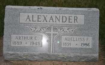 ALEXANDER, ARTHUR C - Cedar County, Nebraska | ARTHUR C ALEXANDER - Nebraska Gravestone Photos