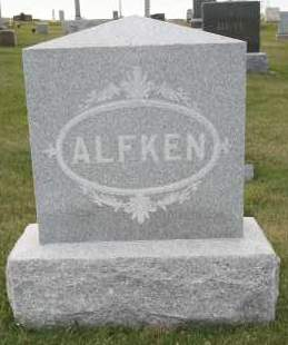 ALFKEN, FAMILY - Cedar County, Nebraska | FAMILY ALFKEN - Nebraska Gravestone Photos