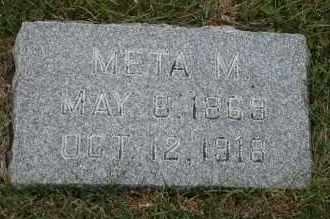 ALFKEN, META M - Cedar County, Nebraska | META M ALFKEN - Nebraska Gravestone Photos