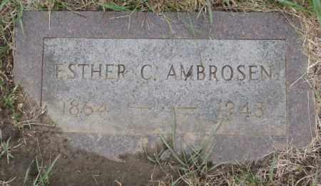 AMBROSEN, ESTHER C. - Cedar County, Nebraska | ESTHER C. AMBROSEN - Nebraska Gravestone Photos