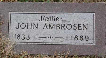 AMBROSEN, JOHN - Cedar County, Nebraska | JOHN AMBROSEN - Nebraska Gravestone Photos
