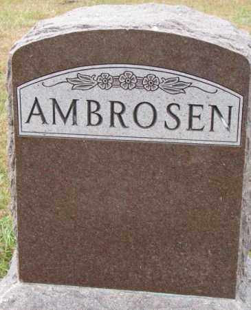 AMBROSEN, PLOT - Cedar County, Nebraska   PLOT AMBROSEN - Nebraska Gravestone Photos