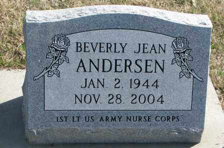 ANDERSEN, BEVERLY JEAN - Cedar County, Nebraska | BEVERLY JEAN ANDERSEN - Nebraska Gravestone Photos