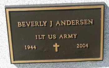 ANDERSEN, BETTY JEAN (MILITARY) - Cedar County, Nebraska | BETTY JEAN (MILITARY) ANDERSEN - Nebraska Gravestone Photos