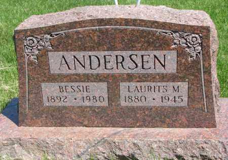 ANDERSEN, BESSIE - Cedar County, Nebraska | BESSIE ANDERSEN - Nebraska Gravestone Photos