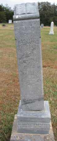 ANDERSON, ANNE - Cedar County, Nebraska | ANNE ANDERSON - Nebraska Gravestone Photos