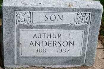 ANDERSON, ARTHUR L - Cedar County, Nebraska | ARTHUR L ANDERSON - Nebraska Gravestone Photos